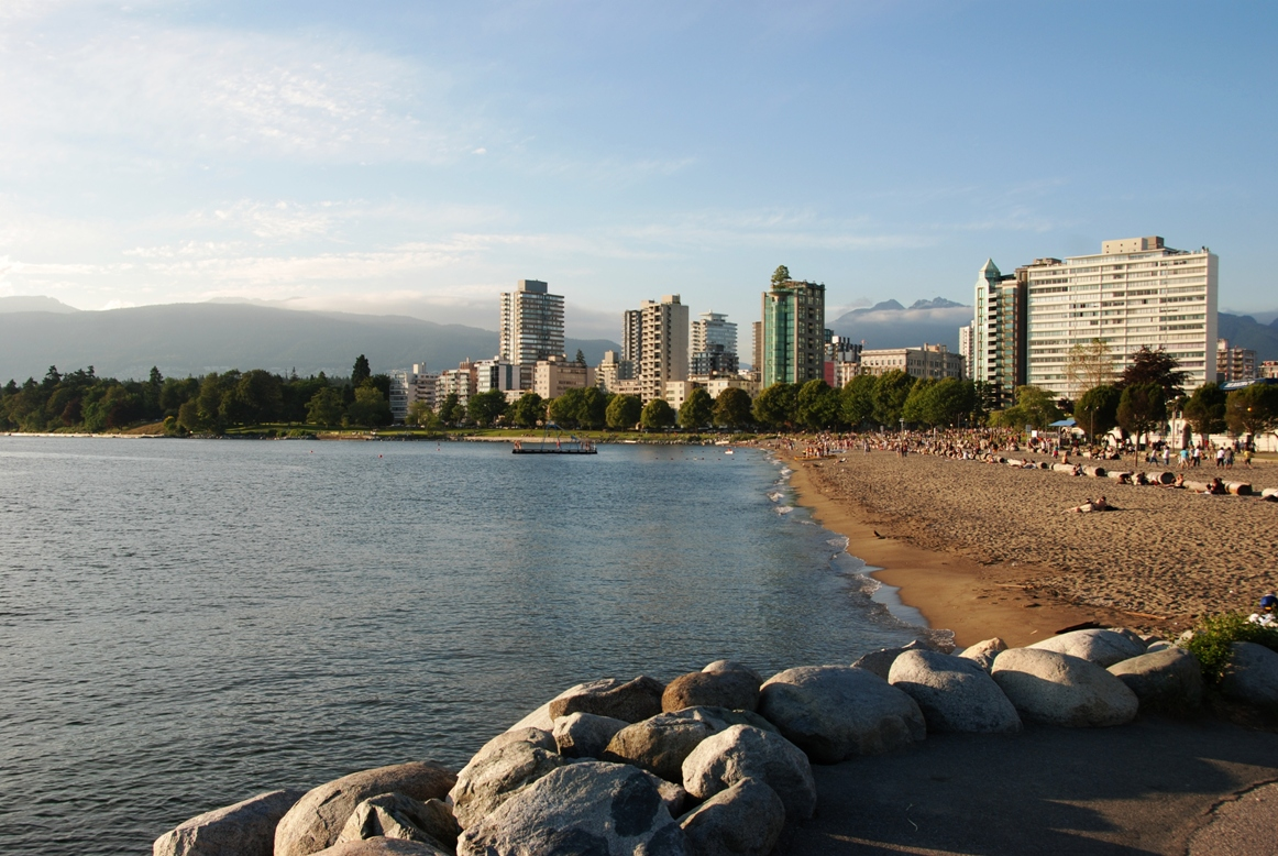 Vancouver West End Beach